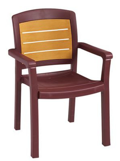 Picture of Grosfillex Aquaba Classic Stacking Armchair