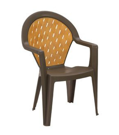 Picture of Grosfillex Amazona Highback Stacking Armchair