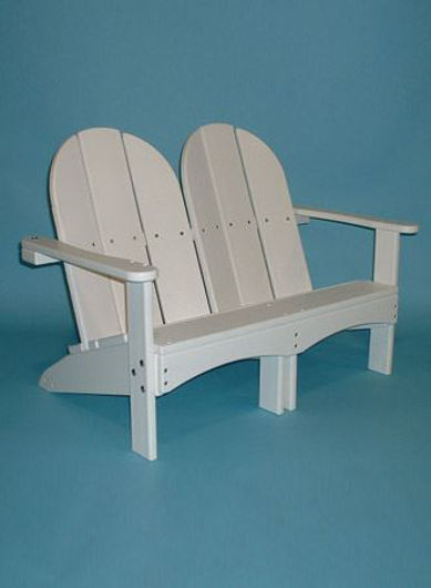 Picture of Kids Double Adirondack Chair  KD 730